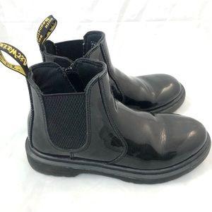 Dr. Martens Patent Chelsea Boots 3 Kids